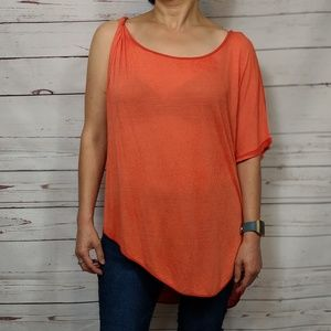 Free People Pluto One-Shoulder T-Shirt